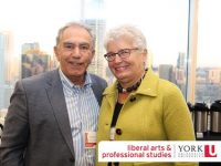 Chancellor Greg Sorbara and Barbara Hall