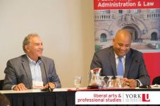 Chancellor Greg Sorbara and The Hon. Micheal Coteau