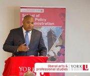 The Hon. Michael Coteau, Minister of Children and Youth Services and Minister Responsible for Anti-Racism