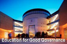 Education for Good Governance