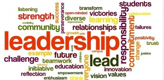 Leadership wordart