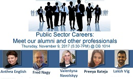 Public Sector Careers poster