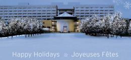 YorkU Vari Hall Holiday Greeting Image